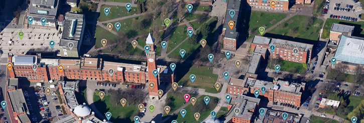 Take a Virtual Tour of our stunning 250 acre campus