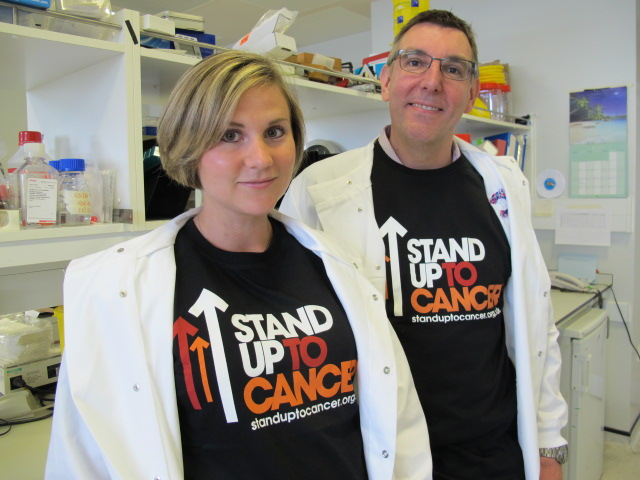 Beth Lucas and Prof Graham Anderson