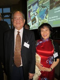 Professor Kok Khoo Phua and Doreen Liu