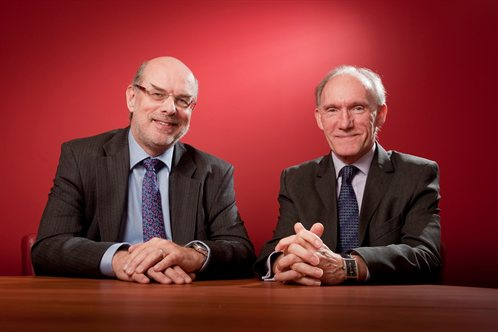 Professors David Eastwood and David Greenaway