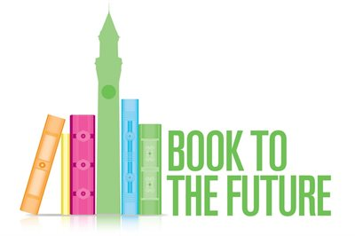 Book to the future logo