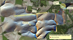 Stonehenge new monuments distribution