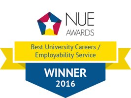 NUE Awards 2016 - Best University Careers / Employability Service
