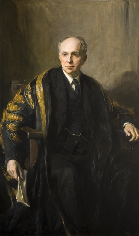 De Laszlo, Philip (1869-1937) Portrait of Viscount Cecil of Chelwood, 1932, Oil on canvas, Research & Cultural Collections