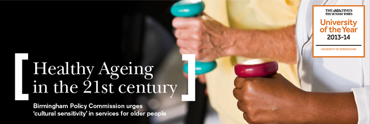 Birmingham Policy Commission on Healthy Ageing Report