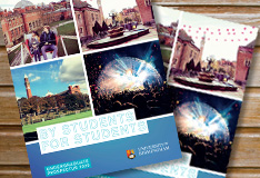 Request or download the Undergraduate Prospectus