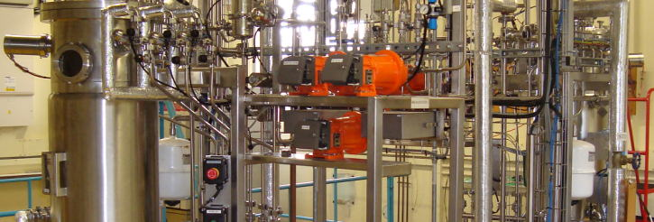 School of Chemical Engineering - Bio-processing pilot plant facilities