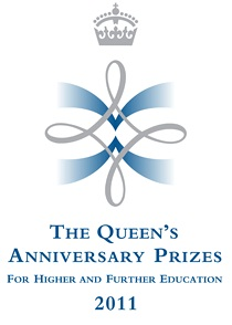 chemical engineering queens anniversary prize logo