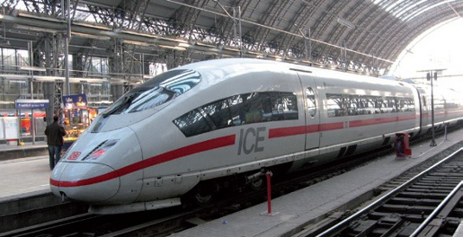 German ICE high-speed train