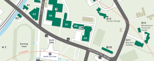Applied Materials Campus Map.How To Find The School Of Metallurgy And Materials University Of