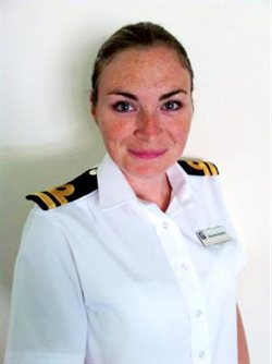 Lt. Roxanne Heaton, Royal Navy