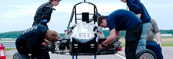 Mechanical Engineering at work - Formula SAE Racing