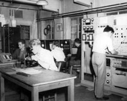 Laboratory at Birmingham in 1960s