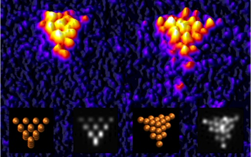 cluster-of-twenty-atoms-of-gold-is-visualised-for-the-first-time-by-Birmingham-physicists