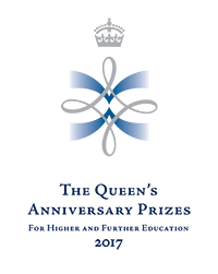 The Queen's Anniversary Prizes 2017 logo