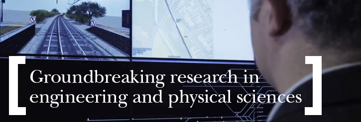 Groundbreaking research in engineering and physical sciences
