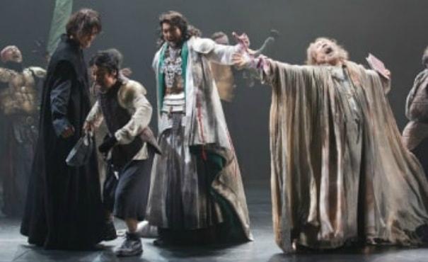 Japanese performance of Shakespeare