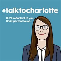 #talktocharlotte