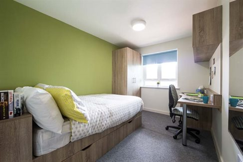 Undergraduate accommodation university of birmingham for Green room birmingham