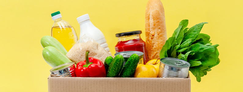 food box header