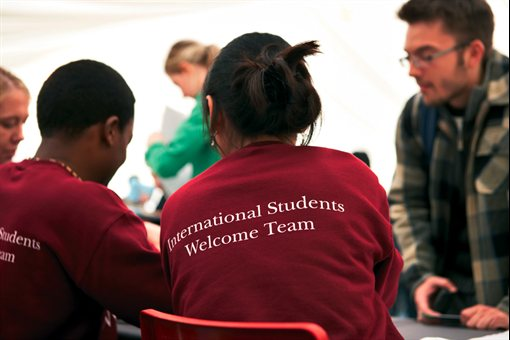 international students welcome