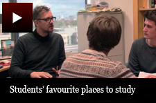 My Bham - Students' favourite places to study
