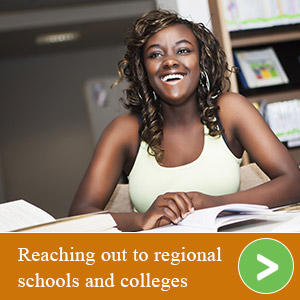 Reaching out to regional schools and colleges
