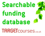 Target Courses funding database logo