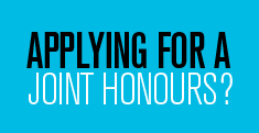 Applying for a Joint Honours?
