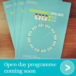 New open day programme coming soon