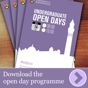 Download the 2017 open day programme