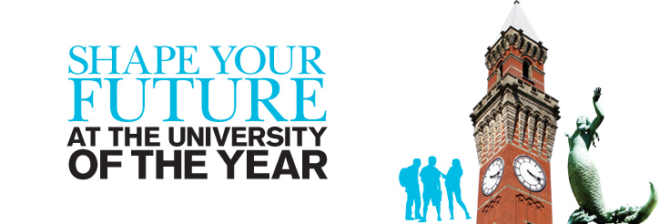 Shape your future at the University of the Year