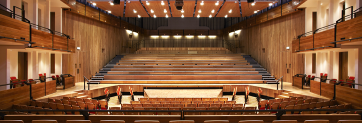 Concerts and events in the Bramall Music Building