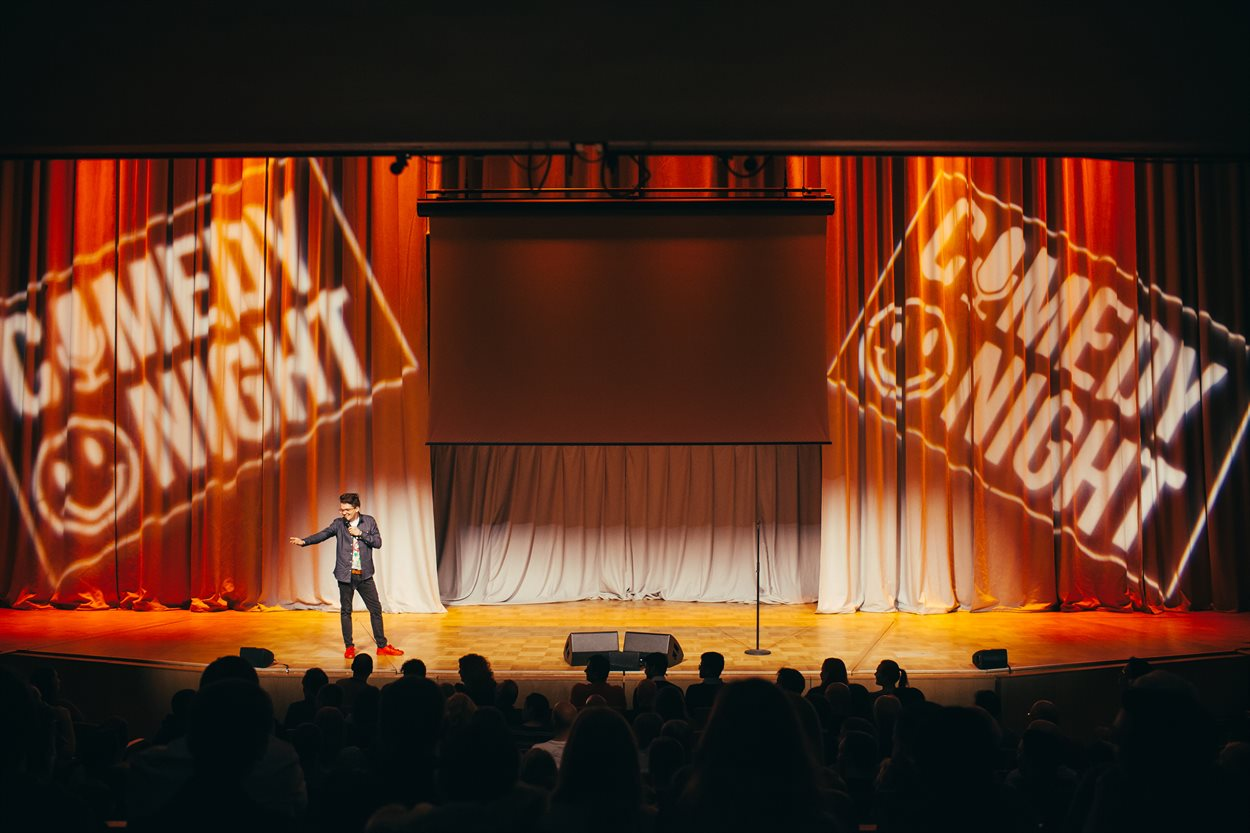 Bramall Comedy Night