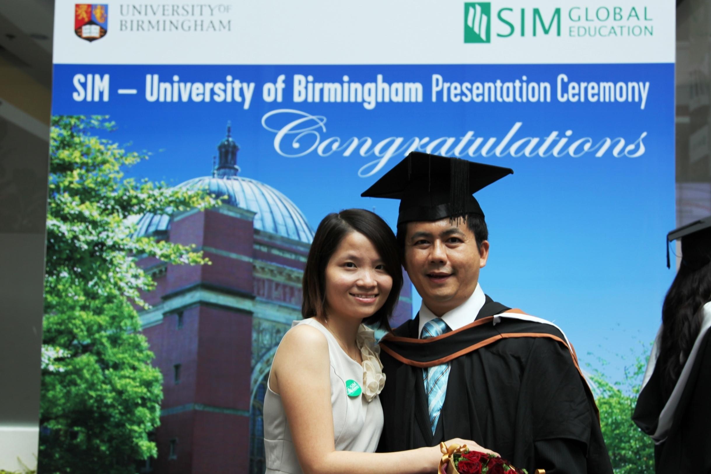 SIM Graduation Photo Gallery - University of Birmingham