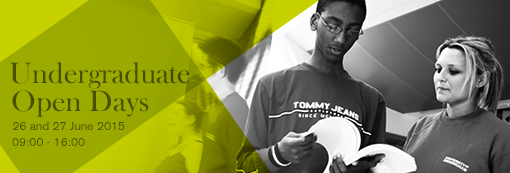 Undergraduate Open Day banner image