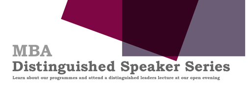 Distinguished Leaders Series