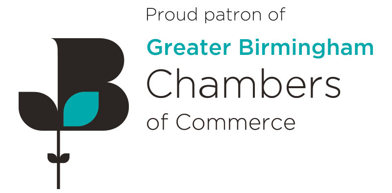 Greater Birmingham Chamber of Commerce proud patron