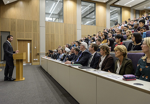 A view of the main lecture theatre in our brand new £10million teaching facility