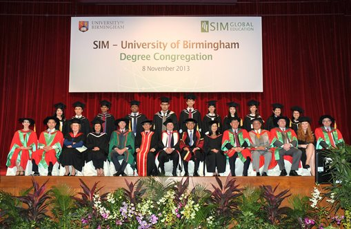 SIM degree congregation 2013
