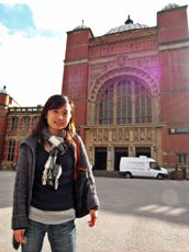 Meng-Han Lee, winner of MA Education TEFL Dissertation Prize 2010-11