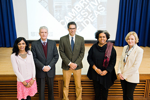 Professor Kalwant Bhopal presents the keynote annual race equality lecture at the University of Cambridge as part of their Festival of Ideas event