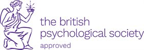 The british psychological society approved logo