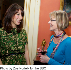 Professor (Emeritus) Ann Lewis meets Samantha Cameron at Downing Street