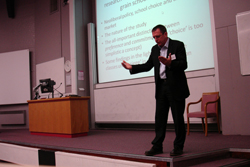 David James, Director of the ESRC Doctoral Training Centre for Wales
