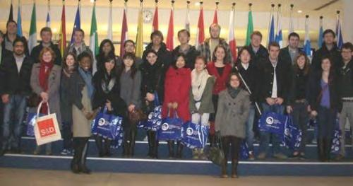 Brussels study trip 2012
