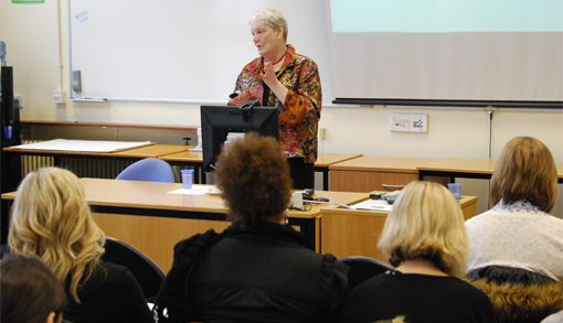 Norma Jarboe OBE, Director of Women Count