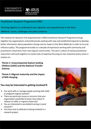 Practitioner Research Programme (PRP)