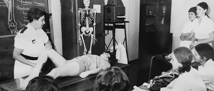 Teaching physiotherapy at Birmingham since the 1930s