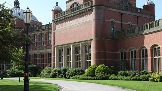 View of the outside of Aston Webb